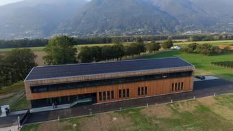 Das Forschungszentrum des Bundes Agroscope in Cadenazzo TI. (Archivbild)