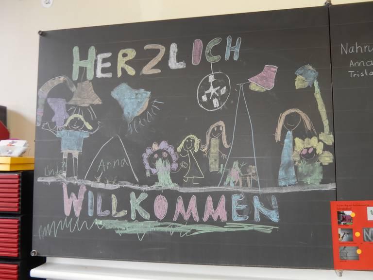 Schüler vom Schulhaus Felsberg am Nationalen Zukunftstag