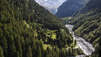 Das Val Bondasca hinter Bondo bleibt weiterhin gesperrt. Es drohen weitere Bergstürze und Murgänge. (Archivbild)