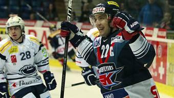 Victor Stancescu zweifacher Torschütze für die Kloten Flyers