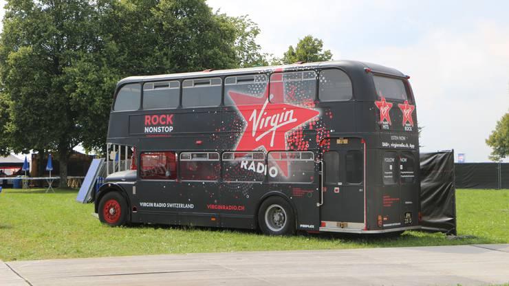 Natürlich darf unser Virgin Radio Londonbus nicht fehlen