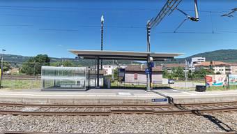 Zum Unfall kam es im Bahnhof Biel Mett.
