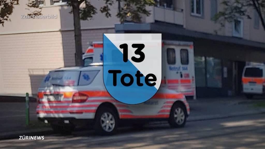 2019 ist blutigstes Jahr dieser Dekade im Kanton Zürich