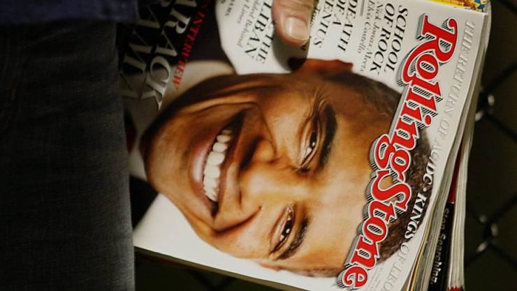 Der ehemalige US-Präsident Barack Obama auf dem Titelblatt des Magazins im November 2008. (Archiv)