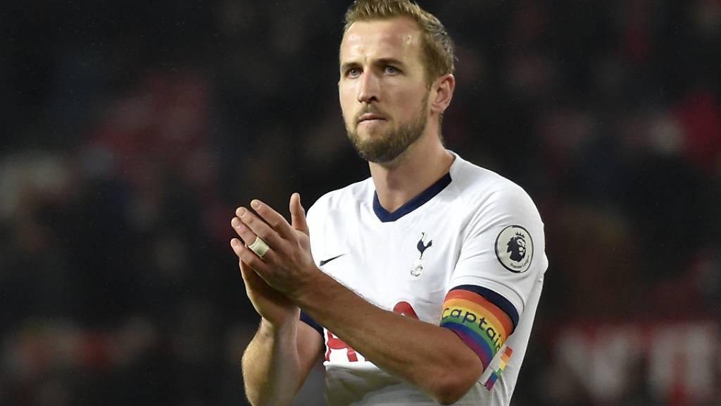 Tottenhams Goalgetter Kane fällt bis April aus