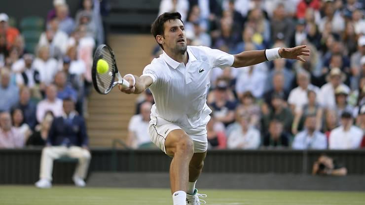 Novak Djokovic befindet sich nach den ersten beiden Partien in Wimbledon auf Kurs