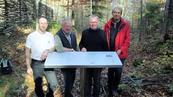 Die Grenchenburg erhielt eine neue Infotafel