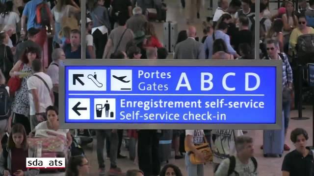 115'000 Passagiere dieses Wochenende am Flughafen Genf