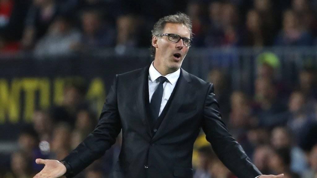Laurent Blanc war in der Champions League zu wenig erfolgreich