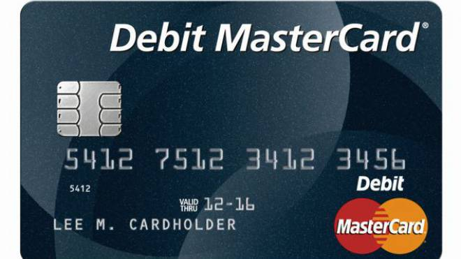 «Debit»: Die DMC heisst zwar Mastercard, ist aber keine Kreditkarte. HO