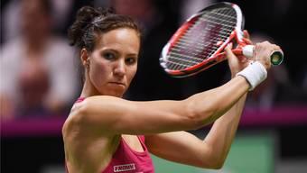 Viktorija Golubic begeisterte im Fed-Cup mit zwei Siegen im Einzel für die Schweiz.