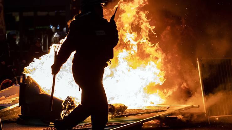 """Bei den """"Gelbwesten""""-Protesten in Frankreich kam es am Samstag erneut zu Ausschreitungen."""