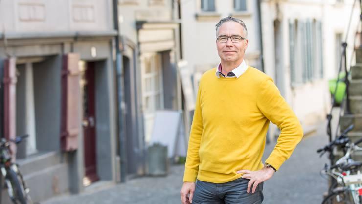 Andreas Horn möchte Sportmuffel für den Altstadtlauf motivieren.