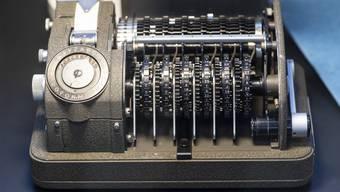Chiffriermaschine. (Symbolbild)