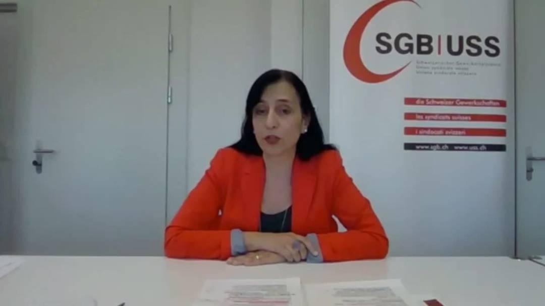 Gewerkschaften fordern vom Bund Lohnausgleich bei Kurzarbeit und Entlassungsverbot für Unternehmen (15.4.2020)