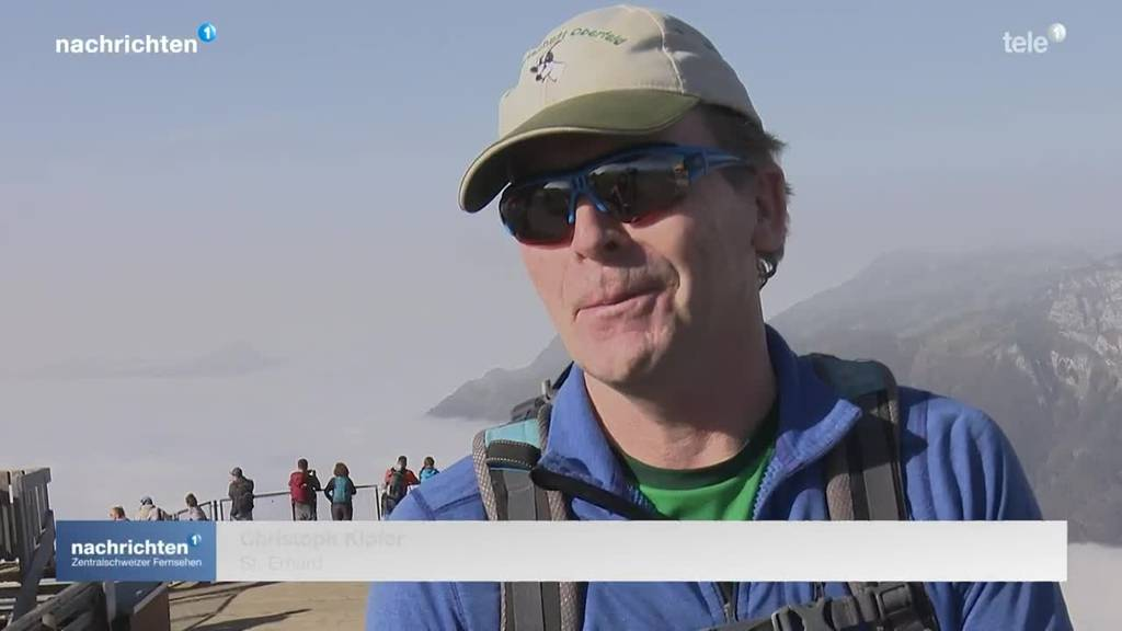 Ansturm auf Berge trotz reduziertem Betrieb