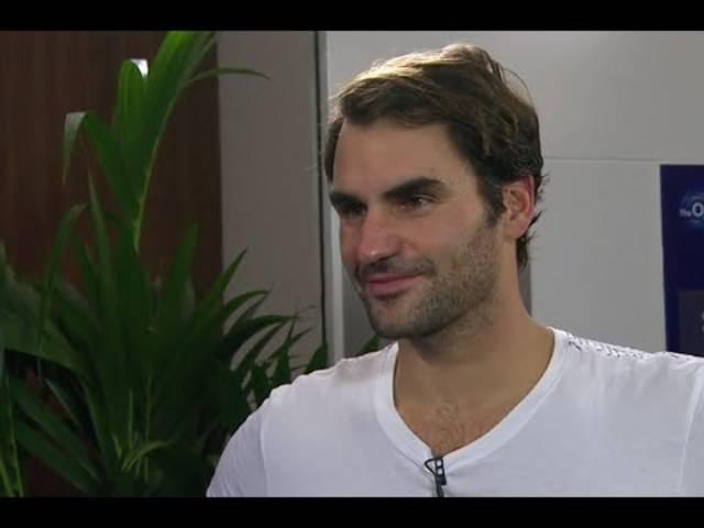 ATP-Finals in London: Roger Federer analysiert seinen Drei-Satz-Sieg gegen Kei Nishikori.