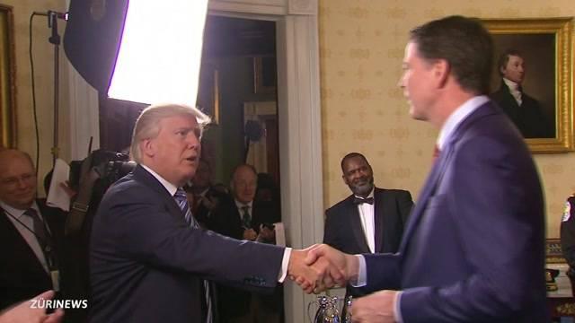 Trump entlässt FBI-Chef per sofort