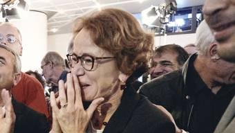 Eva Herzog (SP) ist klare Siegerin, mit drei Mal mehr Stimmen als Patricia von Falkenstein (LDP).
