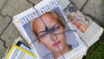 Tamedia hatte bereits im Juli Verkaufsabsichten für die Traditionszeitschrift «Annabelle» geäussert. (Archivbild)