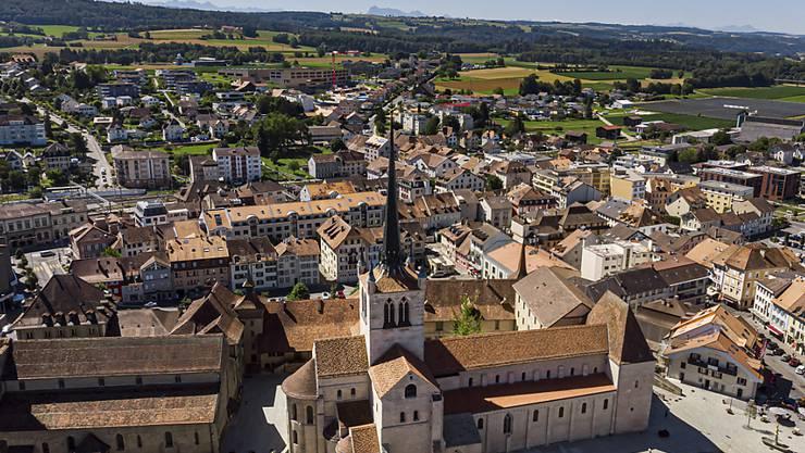 Die Abtei von Payerne ist eine der bedeutendsten Kirchenbauten der romanischen Epoche in der Schweiz.