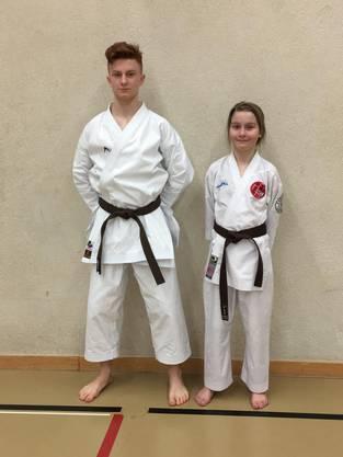 Eric Timmer und Kira Brütsch erfolgreich an der Swiss Karate League