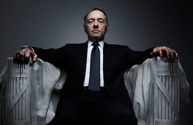 Neflix setzt die Erfolgsserie «House of Cards» mit Kevin Spacey nach der sechsten Staffel ab.