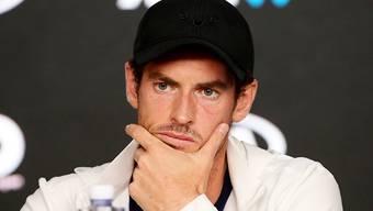 Andy Murray erhofft sich nach der neuerlichen Hüftoperation ein Ende seiner Schmerzen