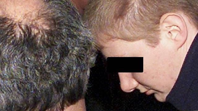 """Die """"Parkhausmörderin"""" während des Strafprozesses im Dezember 2001 (Archiv)"""