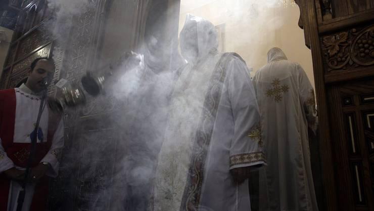 Koptische Sonntagsmesse in Kairo (Archiv)