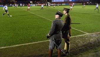 England und Deutschland stellen Match aus 1. Weltkrieg nach