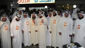 Oppositionelle versammeln in den Strassen von Kuwait-City