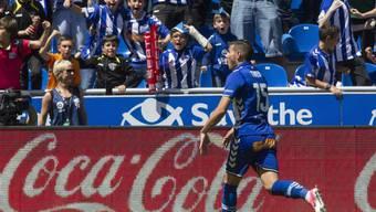 Jubel als Leihspieler bei Alavés: Theo Hernandez
