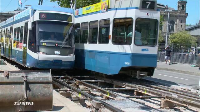 Keine Trams und Busse mehr: Am Central droht ein Verkehrschaos