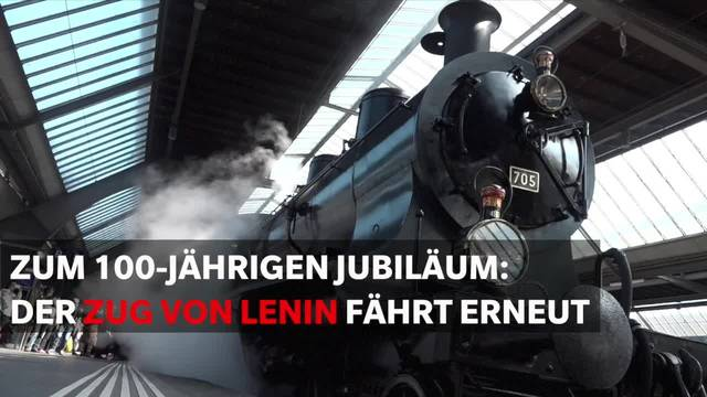 Lenins Zug zum Leben erweckt