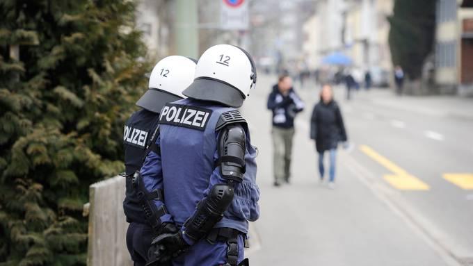 Wenig los: Wegen Corona hatte die Polizei ein ruhiges Fussballjahr