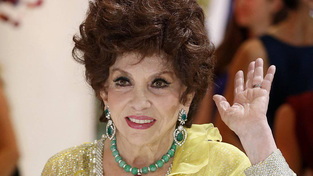 Auch mit 90 alles andere als eine dezente Erscheinung: Das einstige Sex-Symbol Gina Lollobrigida hat heute Geburtstag. (Archivbild)