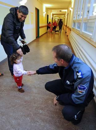Impressionen aus der Asylunterkunft Zofingen