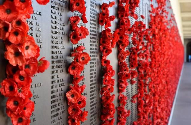 Ehre, wem Ehre gebührt: Australien vergöttert seine Kriegsveteranen auch nach deren Tod.