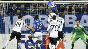 Nach dem klaren 3:0 im Hinspiel kam Schalke zuhause gegen PAOK Saloniki nur zu einem 1:1