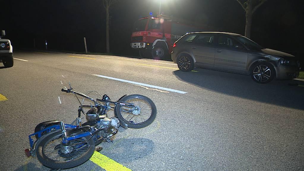 Waldstatt (AR): Auto schiesst bei Überholmanöver 15-jährige Töfflifahrerin ab