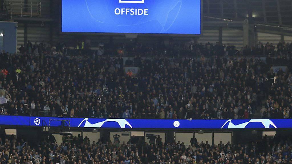 Der Videobeweis kam in diesem Frühjahr schon in den finalen Phasen der Champions League und der Europa League zum Einsatz