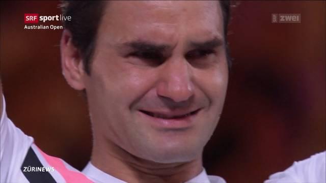 Federer holt sich 20. Grand-Slam-Titel