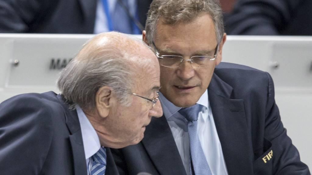 Harte Strafen für Sepp Blatter und Jérôme Valcke (Archivbild)