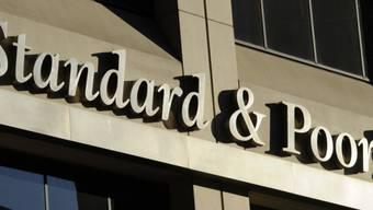 Logo der Ratingagentur Standard & Poor's (Archiv)