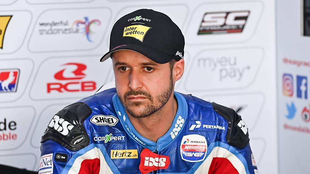 Keine guten Aussichten: Moto2-Fahrer Tom Lüthi.
