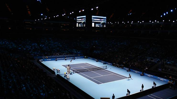 Die ATP Finals (auf dem Bild noch in London) werden ab 2021 in Turin ausgetragen