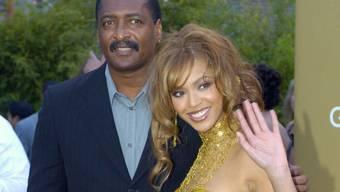 Beyoncé und ihr Vater Matthew Knowles (Archiv)