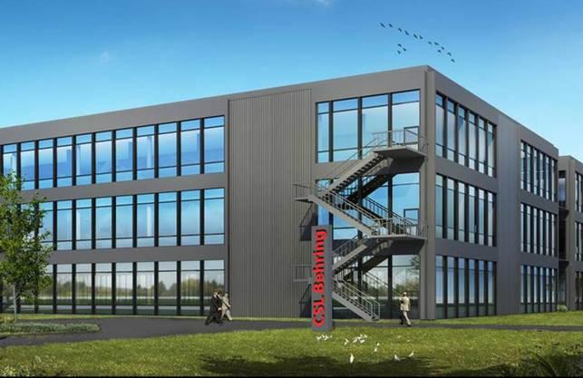 Visualisierung des Fabrikationsgebäudes