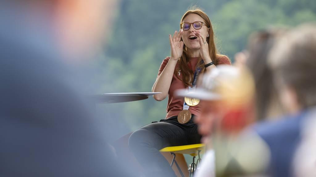 Nina Christen erlebt die Schattenseiten des Olympiasiegs